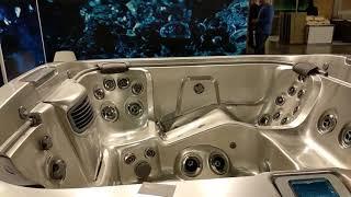 Какие бывают джакузи, бассейны ? Новинки на выставке в Крокус Экспо.
