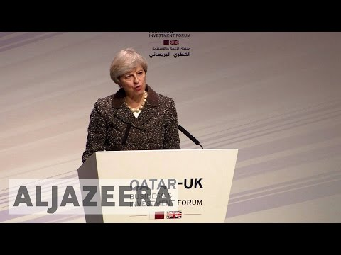 UK's Theresa May vows to boost trade with Qatar