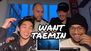 rIVerse Reacts: Want by Taemin - M/V Reaction - rIVerseLive