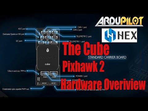 the-cube-pixhawk-2-autopilot-flight-controller-amp-here-gps-closer-look-at-the-hardware