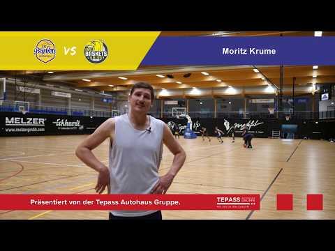 EN BASKETS vs BASKETS JUNIORS OLDENBURG O-Ton Moritz Krume