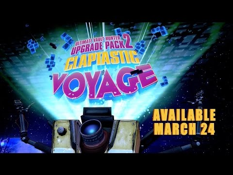 Borderlands: The Pre-Sequel - Claptastic Voyage Trailer thumbnail