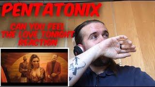 Pentatonix   Can You Feel The Love Tonight   Reaction