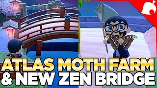1.1.3a Update, Villager Mountain & Atlas Moth Farming in Animal Crossing New Horizons