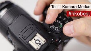 Welcher Kamera Modus TV, AV oder M - Fotografieren lernen - Riko Best