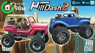 Новые мультики про машины прохождение игры на андроид Hill Dash 2 развивающие игры
