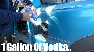 What Happens If You Put VODKA In Your Gas Tank?