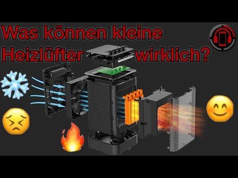 Kleine Heizung für 30€ - Mini Heizlüfter im Test [Deutsch/German]