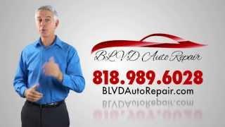 Mercedes Service and Repair (818) 989-6028 in Sherman Oaks, Ca. - Blvd Auto Repair