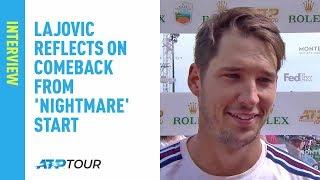 Lajovic Reflects On Comeback From 'Nightmare' Start In Monte-Carlo 2019
