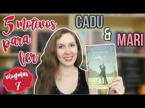 VLOGMAS #7 | 5 motivos para ler Cadu & Mari | Leituras de Deni