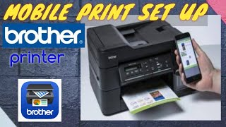 MOBILE PRINT SET UP BROTHER PRINTER DCP-T710W / DCP T710W / DCPT710W / WIFI PRINT / HOW TO