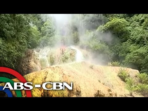 [ABS-CBN]  Bandila: Sulfuric hot spring sa Compostela Valley, patok sa mga turista