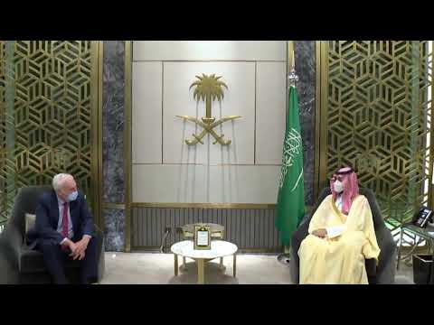 ولي العهد يلتقي مبعوث رئيس وزراء بريطانيا لمنطقة الخليج