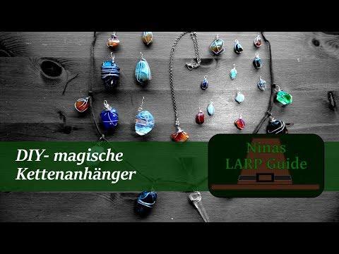 NinasNähstübchen #3 - DIY Stein-Kettenanhänger