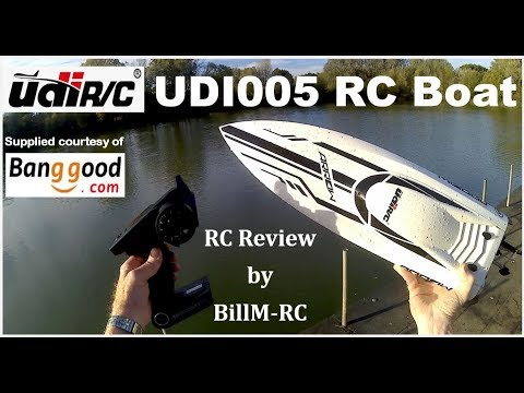 UDiRC UDI005 Brushless RC Boat Review