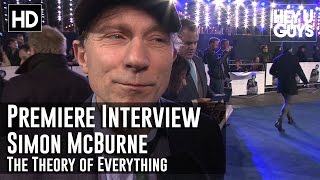 Simon McBurney Interview - The Theory of Everything Premiere
