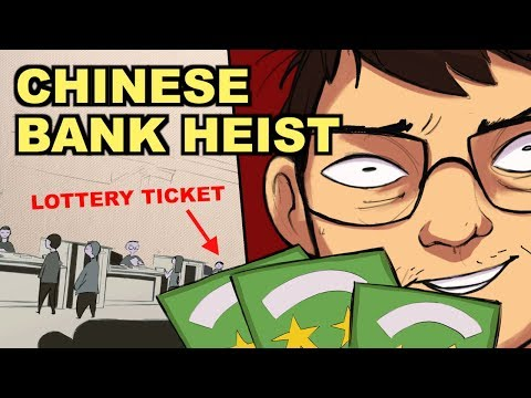 This Is The Greatest Bank Heist in Chinese History