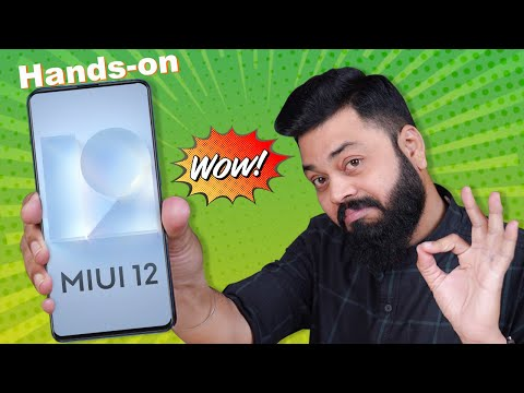 MIUI 12 Hands-On & First Look ft. Redmi K20 ⚡⚡⚡ 15+ Awesome MIUI 12 Updates
