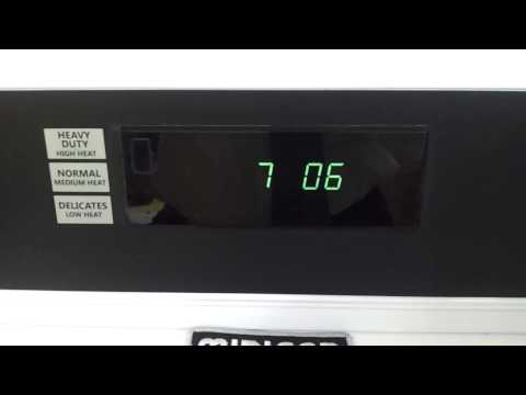 Change dry time Maytag Commercial PD dryer