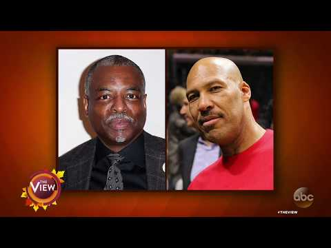 LeVar Burton Isn't LaVar Ball! | THe View