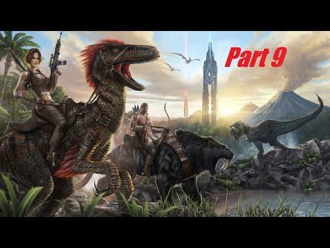 Let´s play ARK Survival Evolved German Part 9 Schild Aufsteller