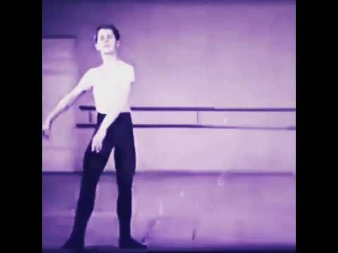 Baryshnikov-student VS. Baryshnikov-dancer