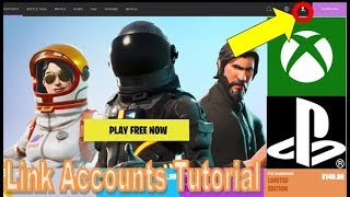 How to Link your Xbox Live/PSN Account to Epic Games [Avoid Xbox Live Account Already Signed In]