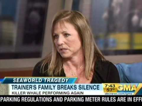 Sea World Whale Trainer Dawn Brancheau's Family Speaks Out Forms Foundation