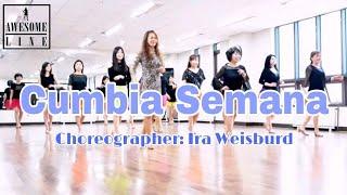 Cumbia Semana Line Dance & Demo(High Beginner)