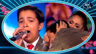 11 Years Old Boy Sings COPLA To Get The Judges!   Castings 3   Idol Kids 2020