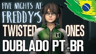 Five Nights at Freddy's: The Twisted Ones [TRAILER DUBLADO] FNAF Animation