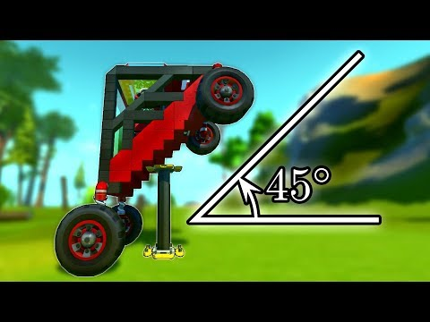 We Built Cars Diagonally And They're Still Better Than Cybertruck! Scrap Mechanic Multiplayer Monday