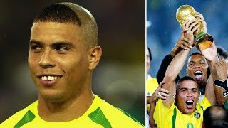 Why Ronaldo had such a strange haircut in 2002? - Oh My Goal
