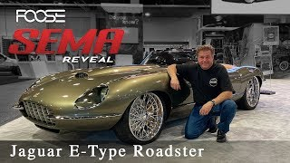 Foose Design Jaguar E-Type Roadster - The Reveal!