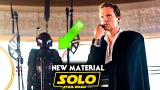 Solo A Star Wars Story NEW Material Revealed & More! (Star Wars News) - Video Youtube