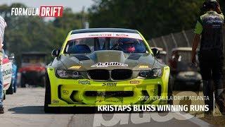 Kristaps Bluss Winning Runs at Formula Drift Atlanta 2018   #bitlook