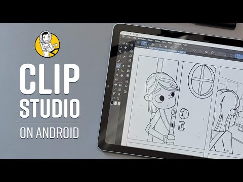 Clip Studio Paint on Android Demo
