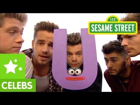 "Sesame Street: One Direction What Makes ""U"" Useful (What Makes You Beautiful Parody)"