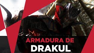 Skyrim Mods - Armadura de Drakul !!