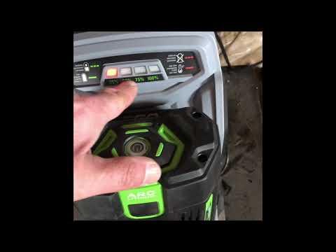 Ego 56 V batteries not charging