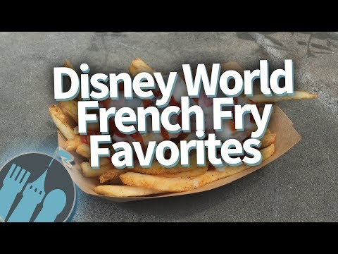 DON'T MISS THESE 6 Disney World French Fry Favorites!