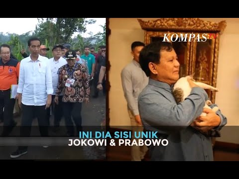 Ini Dia Sisi Unik Jokowi & Prabowo