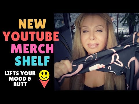 New YouTube Merch Shelf  👍💥✌️