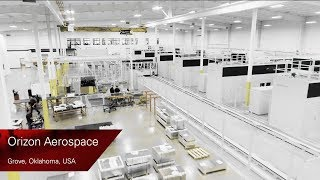 Flexible manufacturing system for American aerospace customer