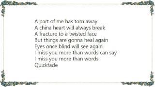 Feeder - Quick Fade Lyrics