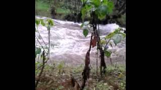 River gura in othaya aberdare ranges.