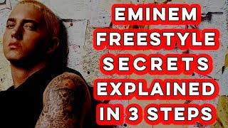 Eminem Demonstrates How To Freestyle Rap In 3 Steps