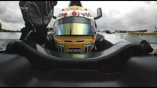 2007 French GP- KimiCAM , LewisCAM victory lap