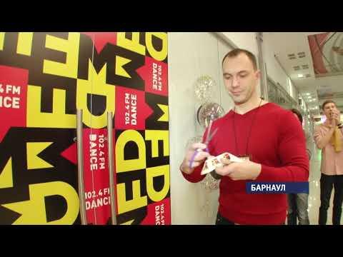 Танцевальная радиостанция DFM открыла первую и единственную в Барнауле открытую студию